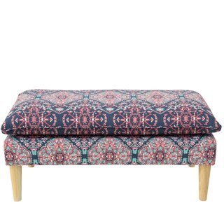 Alfaro Pillowtop Upholstered Bench by Bungalow Rose SKU:EB370522 Check Price