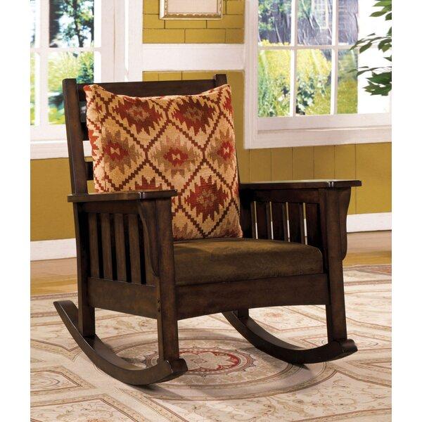Rodriguez Rocking Chair by Loon Peak