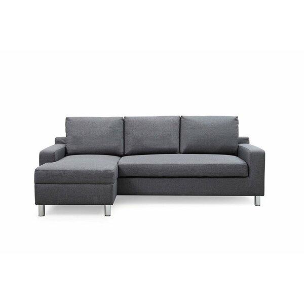 Heckson Sleeper Sectional by Ebern Designs