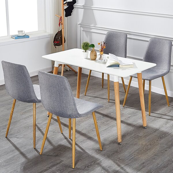 Celinda Upholstered Dining Chair (Set of 4) by Wrought Studio