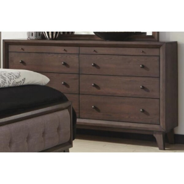 Asherton 8 Drawer Double Dresser by Modern Rustic Interiors