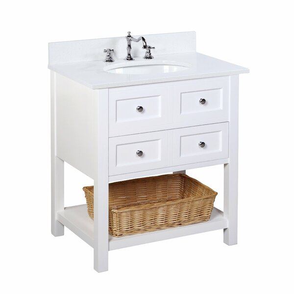New Yorker 30 Single Bathroom Vanity Set by Kitchen Bath Collection
