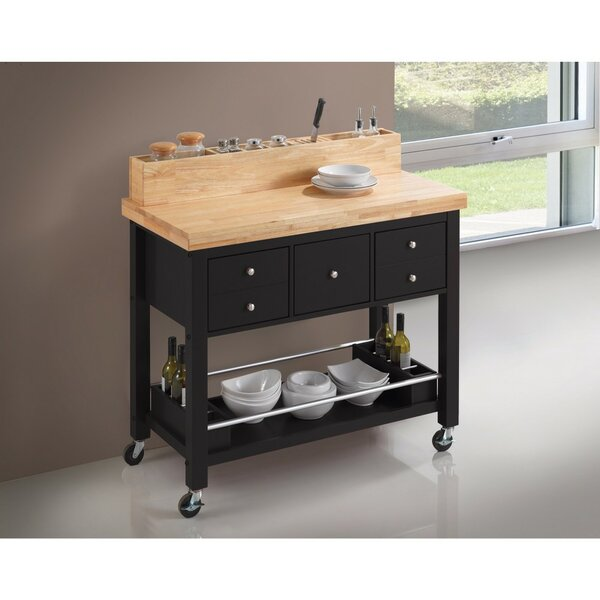 Trowel Capacious Kitchen Island by Latitude Run