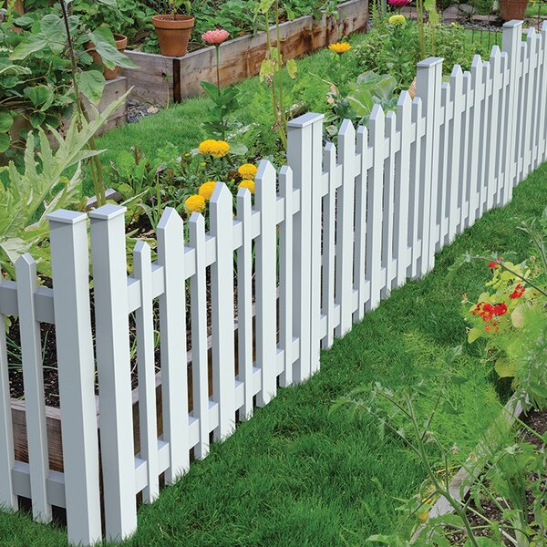 2.6 ft. x 3.2 ft. Picket Accent Fence by Xpanse Select Vinyl Railing