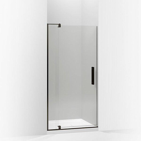 Revel 40'' x 74'' Pivot Shower Door with CleanCoat® Technology by Kohler