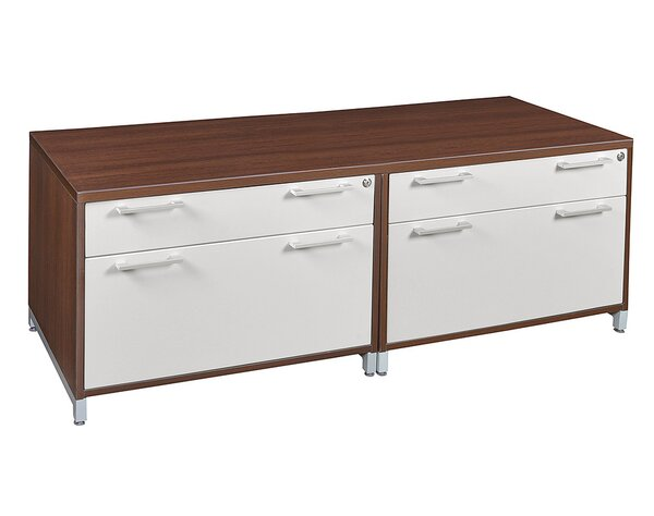 Maverick Double Lateral Low Credenza by Brayden Studio