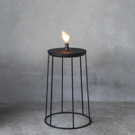 Wire Disc Oil Tabletop torch by Menu