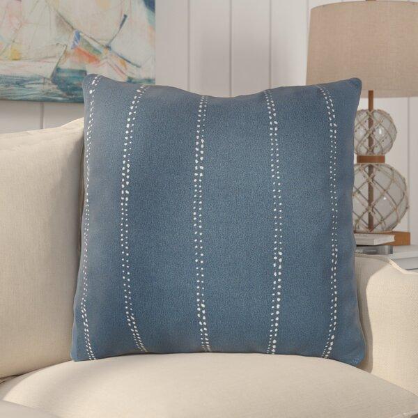Balentine Dot Stripe Indoor/ Outdoor Throw Pillow (Set of 2) by Wade Logan