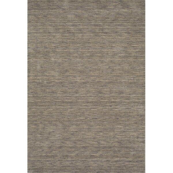 Toby Hand Woven Wool Granite Area Rug by Corrigan Studio