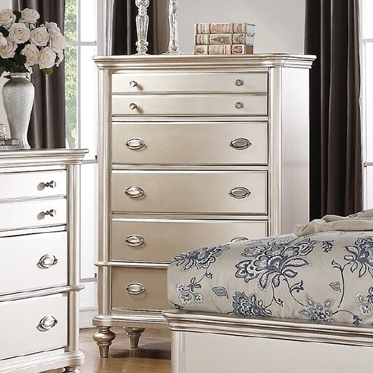Tiya 6 Drawer Chest by House of Hampton