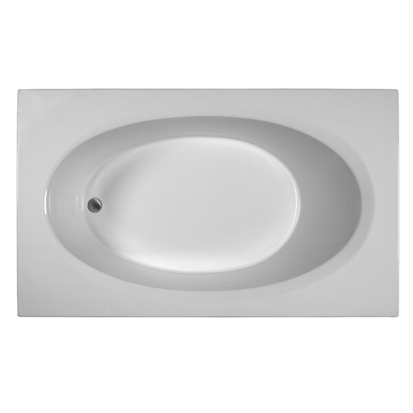 Rectangle 71 x 41.5 Soaking Bathtub by Reliance