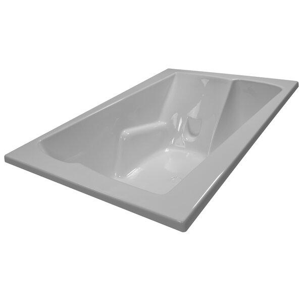 71 x 48 Soaker Arm-Rest Bathtub by American Acrylic