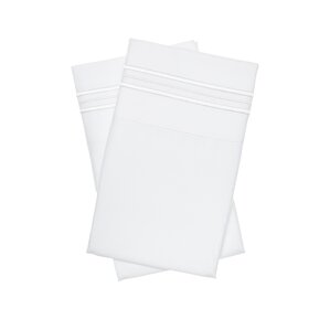 Holsworthy Deep Sleep Premier 1800 Thread Count Pillow Case (Set Of 2)
