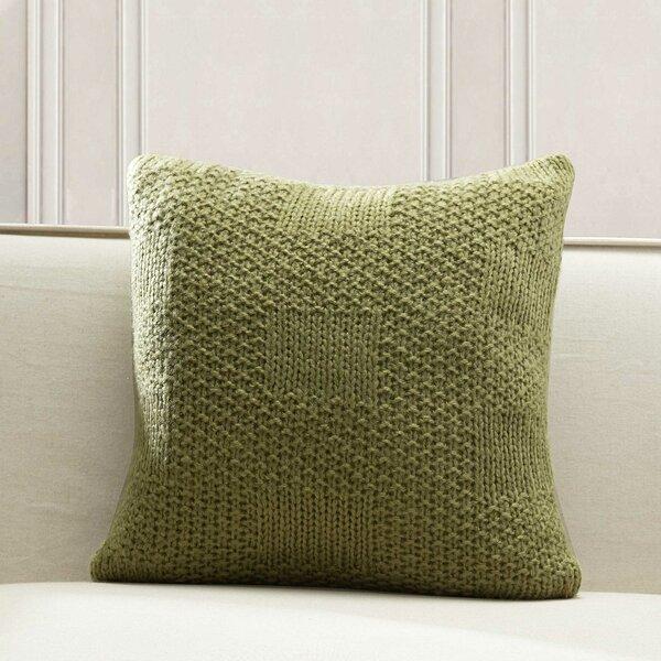 Jinie Knit Throw Pillow by Gracie Oaks