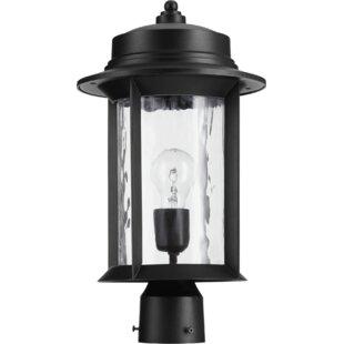 Best Reviews Osmond Transitional 1-Light Lantern Head By Three Posts