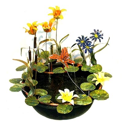 Tiger Lily Resin Fountain by Harvey Gallery