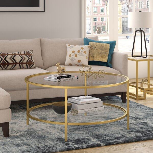 Magdalen Coffee Table with Storage by Andover Mills Andover Mills
