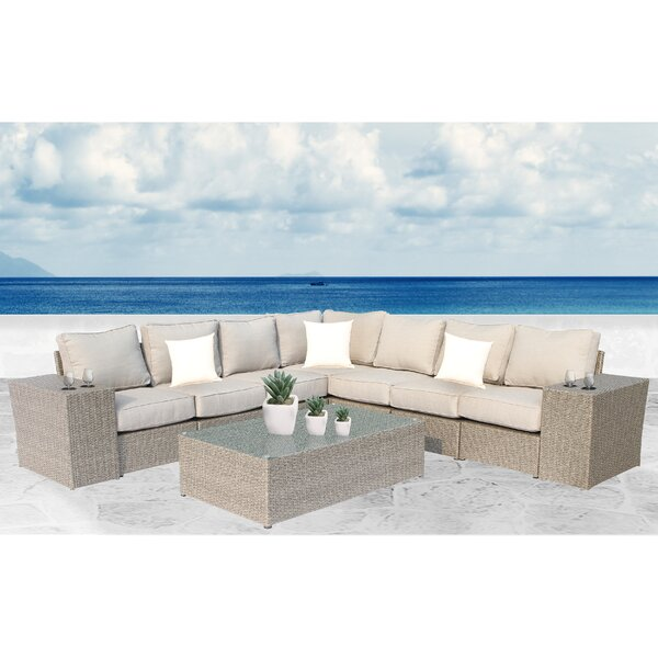 Winsford 10 Piece Sectional Set with Cushions by Rosecliff Heights