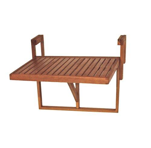 Balkontisch Berkeley | Garten > Balkon > Balkontische | Holzwerkstoff - Korbgeflecht - Holz | Caracella