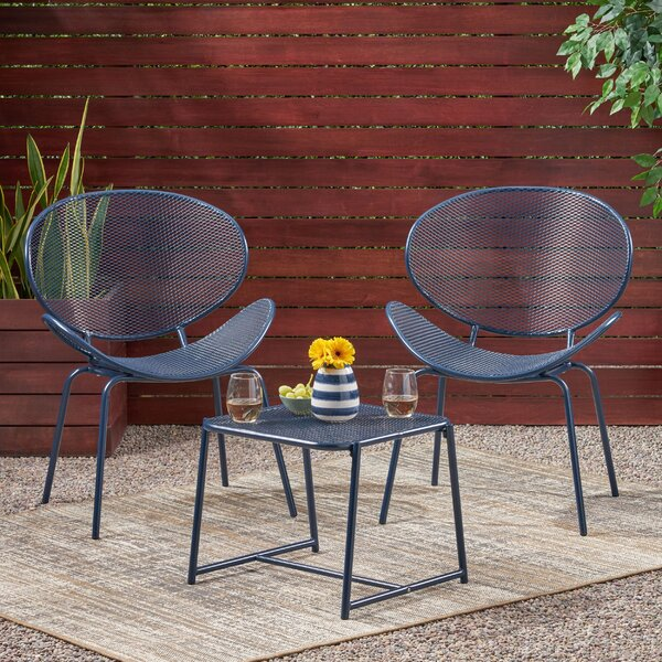 Roosevelt 3 Piece Seating Group by Ebern Designs