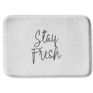 Stay Fresh Memory Foam Bath Rug