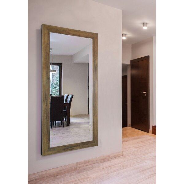 Piedmonte Barnwood Accent Wall Mirror by Gracie Oaks