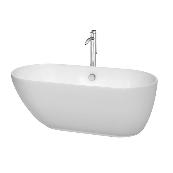 Melissa 60 H x 29 Soaking Bathtub by Wyndham Collection