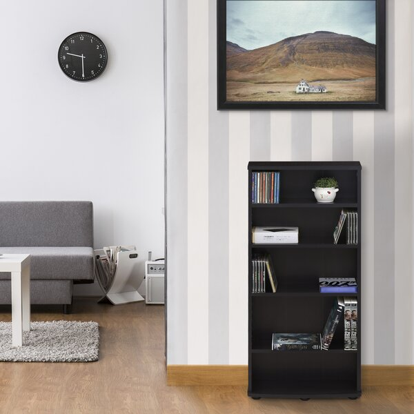 Crow 4-Tier Multimedia Storage Rack by Zipcode Design