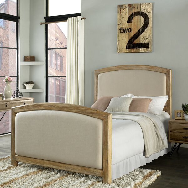 Loggins Upholstered Headboard by Loon Peak