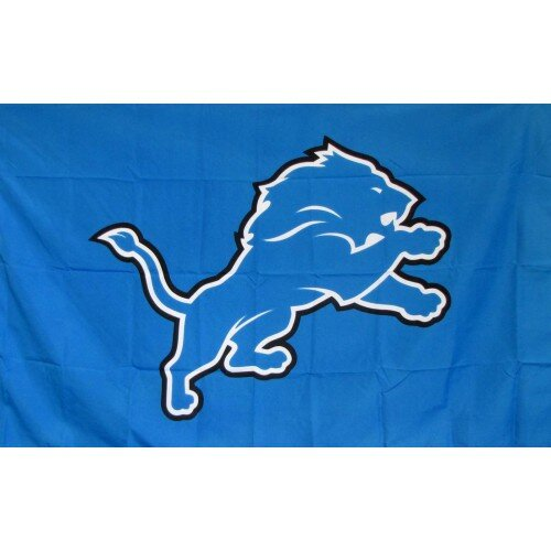 Detroit Lions Polyester 3 x 5 ft. Flag by NeoPlex