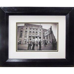 New York's Yankee Stadium Boys Framed Photographic Print by Buy Art For Less