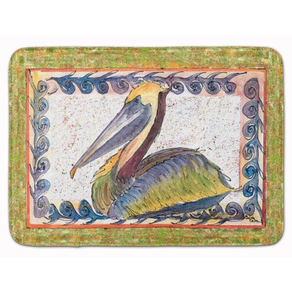 Pelican Memory Foam Bath Rug by East Urban Home