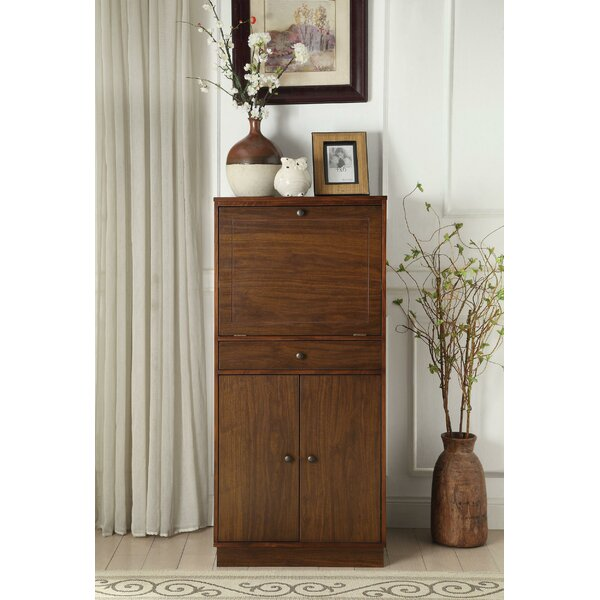Wadlington Wooden Bar Cabinet by Charlton Home Charlton Home