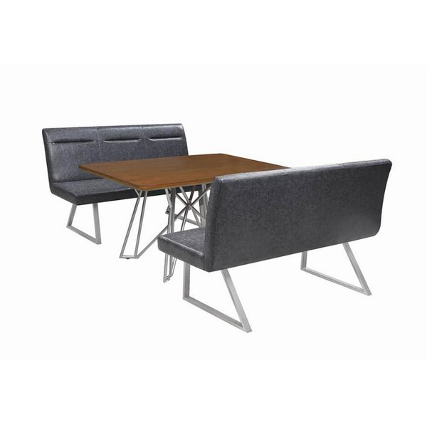 Fernando 3 Piece Dining Set by 17 Stories