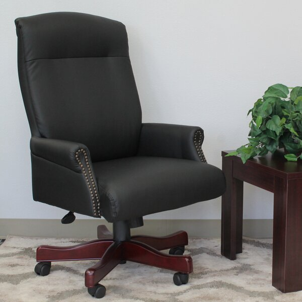 Gormley Traditional Executive Chair by Three Posts