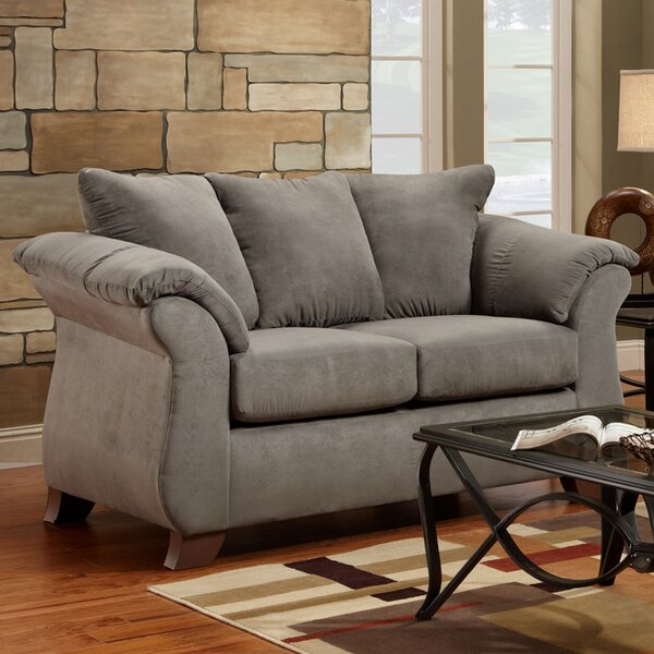 Stay On Trend This Homerville Loveseat by Charlton Home by Charlton Home