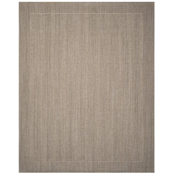 Rodanthe Desert Sand Solid Area Rug by Bay Isle Home