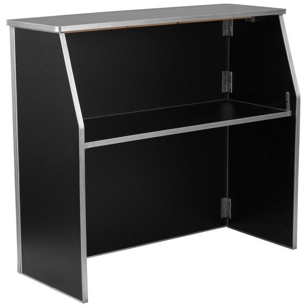 Bukowski Foldable Home Bar by Ebern Designs