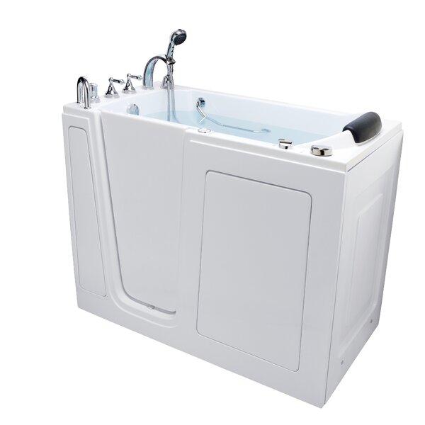 60 x 30 Walk-in Whirlpool Bathtub by Energy Tubs