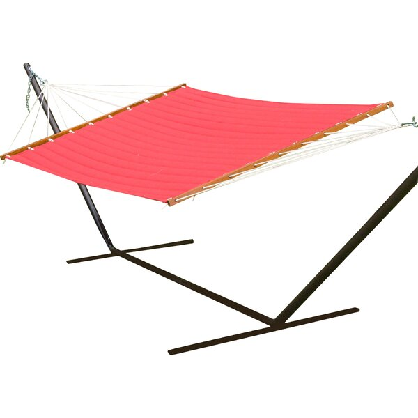 Deavers Polyester Hammock by Breakwater Bay