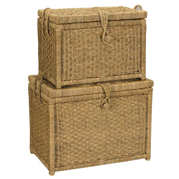 Seagrass Trunk (Set of 2) by Household Essentials