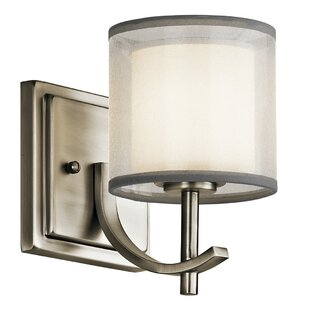 Compare & Buy Bastian 1-Light Armed Sconce By Kichler