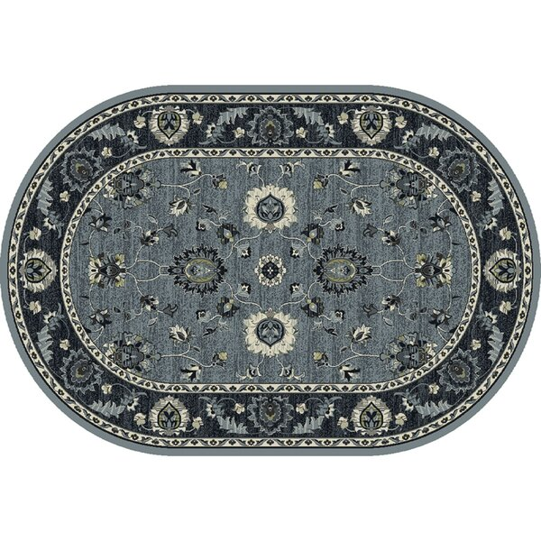 Renick Simply Open Medium Blue Area Rug by Charlton Home