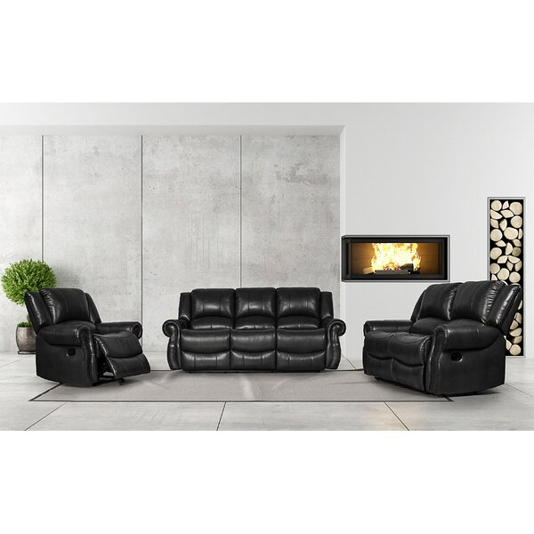 Cheap Price Carte 3 Piece Reclining Living Room Set