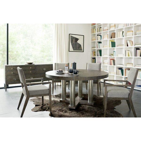 Linea 5 Piece Solid Wood Dining Set By Brayden Studio