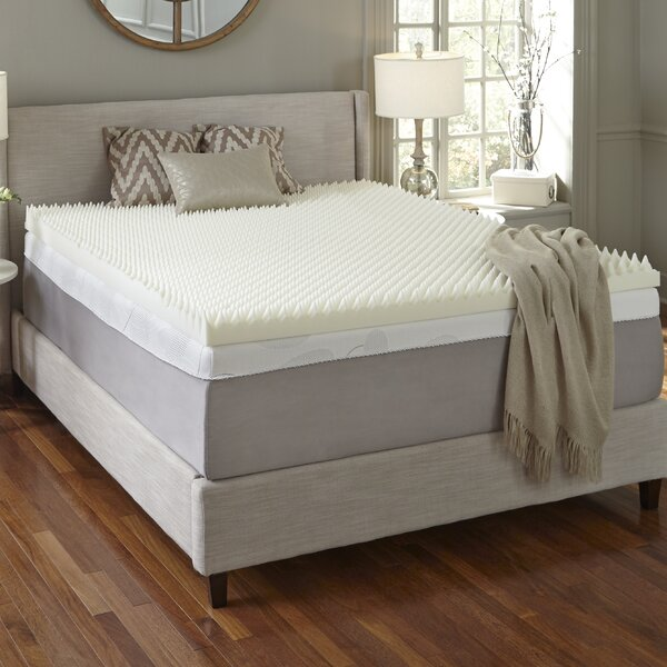 4 Memory Foam Mattress Topper by Simmons Curv