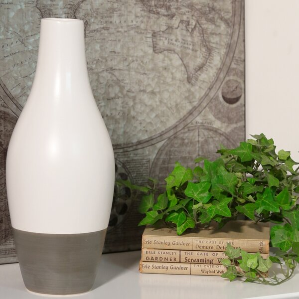 Cipolla Stoneware Bellied Table Vase by Corrigan Studio