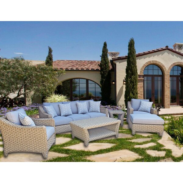 Galen 6 Piece Sofa Set with Cushions by Bayou Breeze