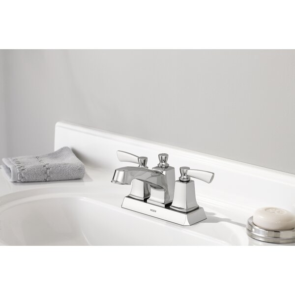 Conway Centerset Bathroom Faucet with Drain Assembly