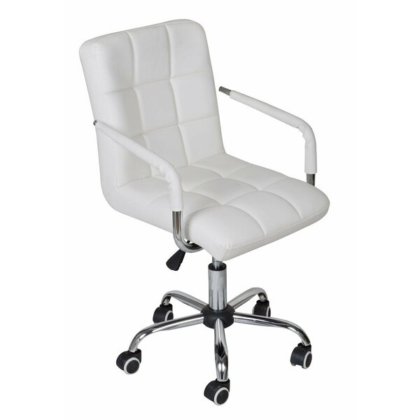 Adjustable Rolling Office Chair by Calhome